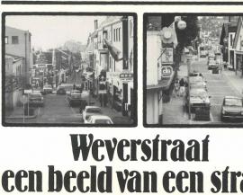 Weverstraat een beeld van een straat (2e-hands)