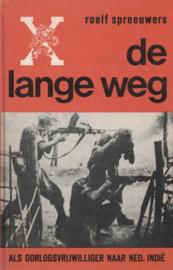 De lange weg - Als oorlogsvrijwilliger naar Nederlands-Indië