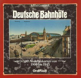 Deutsche Bahnhöfe - 500 Ansichtskarten von 1900 bis 1945