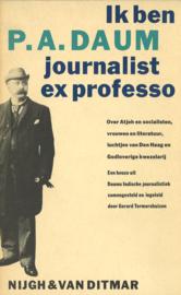 Ik ben journalist ex professo