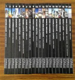 Complete Serie Volkskrant ''Wereld Architecten'' - 20 delen