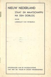 Nieuw Nederland - Staat en maatschappij na den oorlog