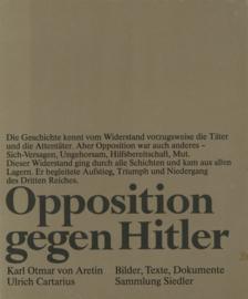 Opposition gegen Hitler