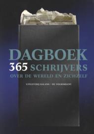 Dagboek 365 schrijvers over de wereld en zichzelf