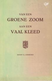 Van een groene zoom aan een vaal kleed, 1e druk (2e-hands)