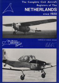 The Complete Civil Aircraft Registers of The Netherlands since 1920