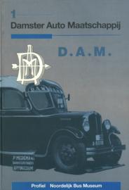 Damster Auto Maatschappij - 50 Jaar personenvervoer door de naamloze vennootschap Damster Auto Maatschappij (D.A.M.) in het noordoosten van de provincie Groningen