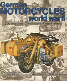 German Motorcycles World War II - Solo machines . Combinations . Kettenkraftrad