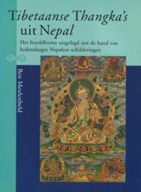 Tibetaanse Thangka's uit Nepal - Het boeddhisme uitgelegd aan de hand van hedendaagse Nepalese schilderingen