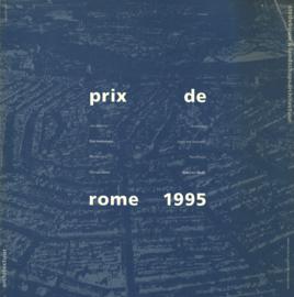 Prix de Rome 1995 - Architectuur, stedebouw en landschapsarchitectuur
