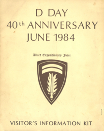 D-Day - 40th Anniversary June 1984 Visitor's Information Kit