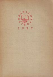 Rondom het boek 1937 - Boekenweekgeschenk