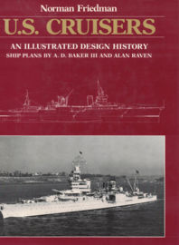 U.S. Cruisers -An Illustrated Design History (hardcover)
