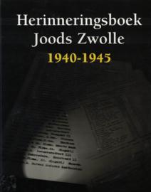 Herinneringsboek Joods Zwolle 1940-1945