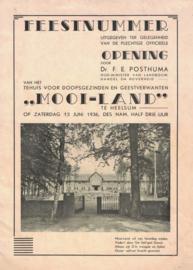Feestnummer - Ter gelegenheid van de officieel opening Mooi-Land (2e-hands)