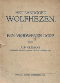 Wolfhezen - Een verdwenen dorp