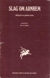 Slag om Arnhem - Bibliografie van gedrukte werken
