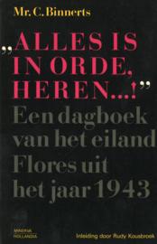 Alles is in orde, heren ...! - Een dagboek van het eiland Flores uit het jaar 1943