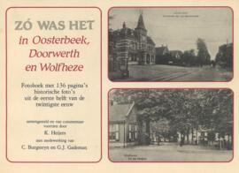 Zo was het in Oosterbeek, Doorwerth en Wolfheze (2e-hands)