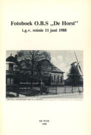 Fotoboek O.B.S. 'de Horst' (2e-hands)