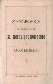 Zangboekje ten dienste van de St. Bernulphusparochie (2e-hands)
