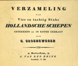 VERZAMELING van Vier en tachtig Stuks HOLLANDSCHE SCHEPEN (2e-hands)