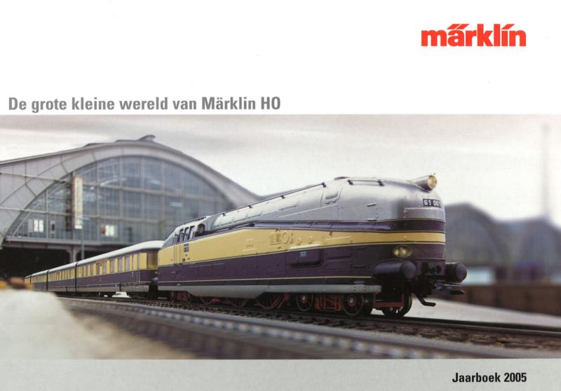 Märklin - De grote en kleine wereld van Märklin HO jaarboek 2005 (2e-hands)
