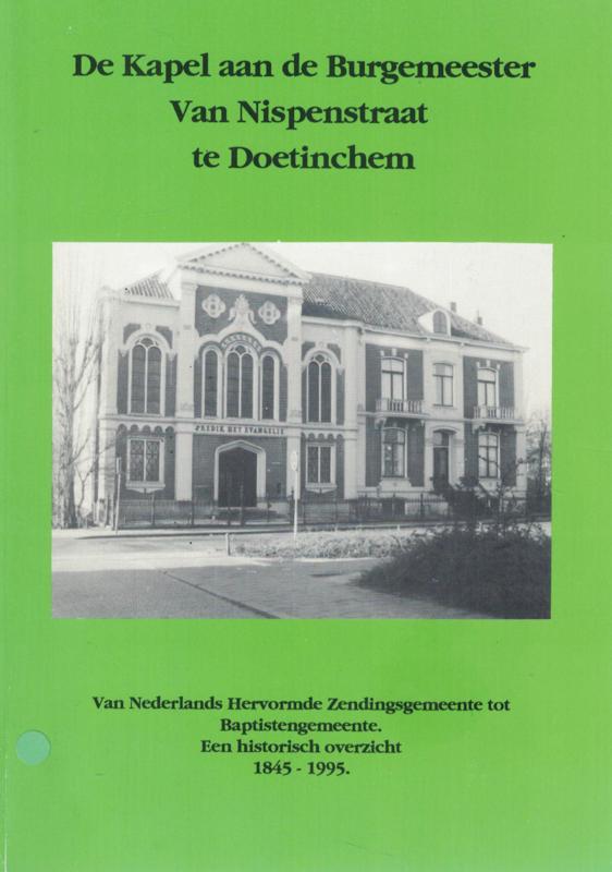 De Kapel aan de Burgemeester Van Nispenstraat te Doetinchem