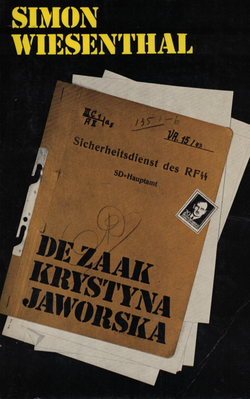Simon Wiesenthal - De zaak Krystyna Jaworska