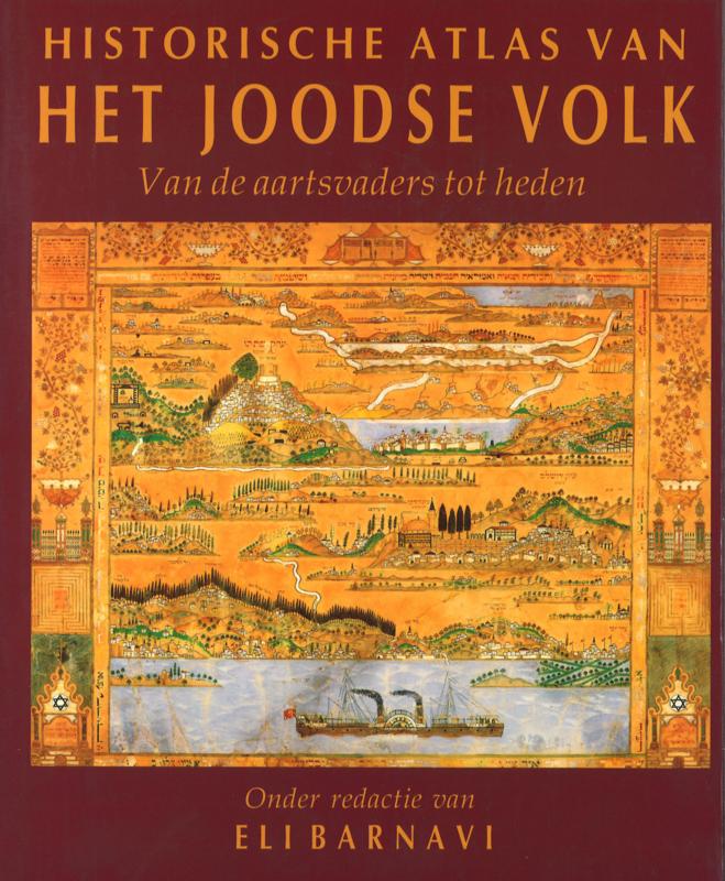 Historische atlas van het Joodse volk (2e-hands)