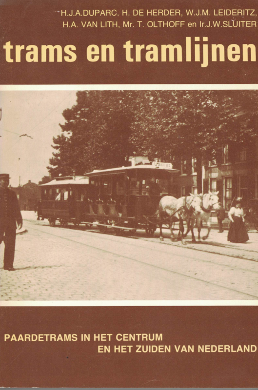 Trams en tramlijnen (2e-hans)