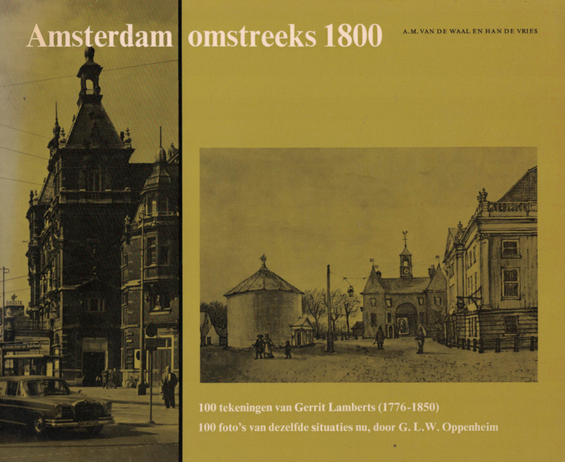 Amsterdam omstreeks 1800 (2e-hands)