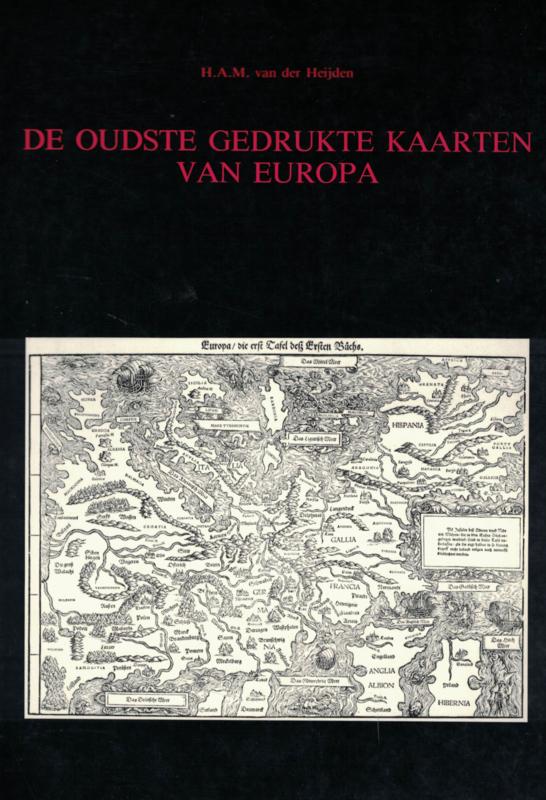 De oudste gedrukte kaarten van Europa (2e-hands)