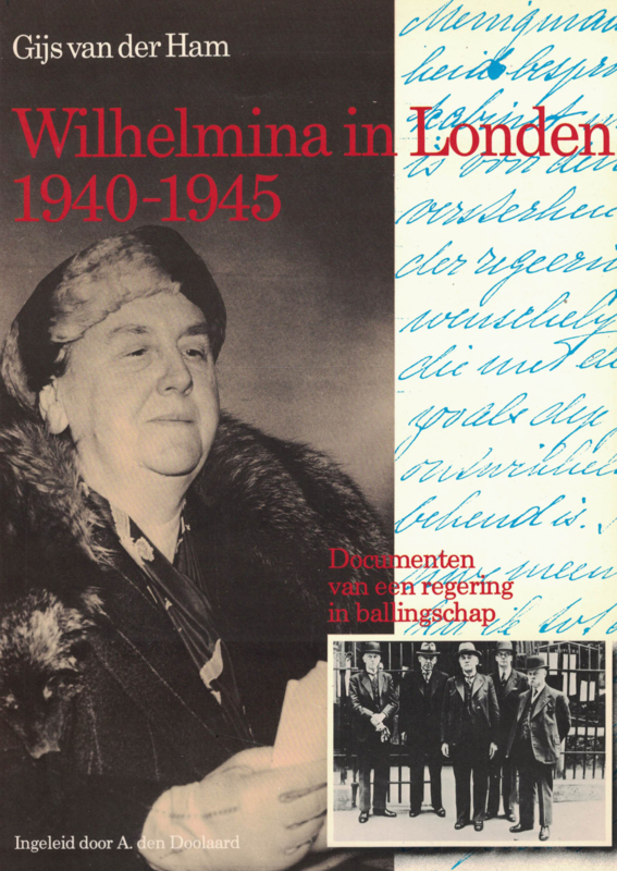 Wilhelmina in Londen 1940-1945 (2e-hands)