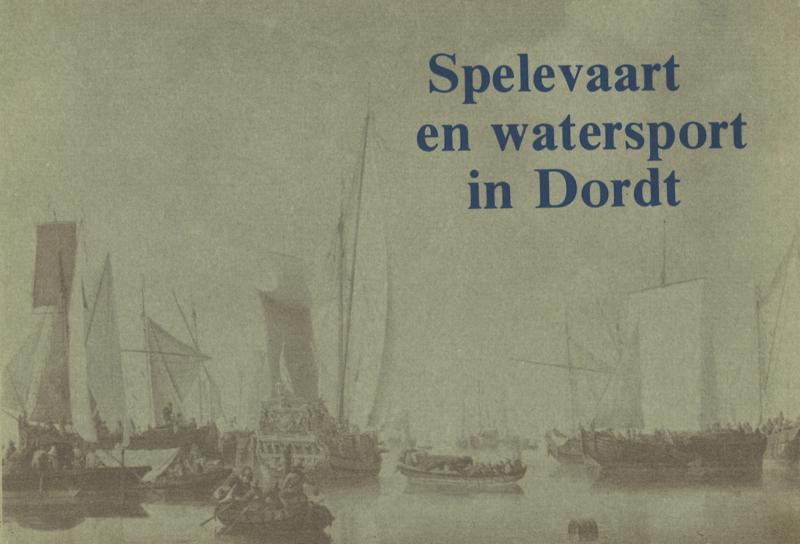 Spelevaart en watersport in Dordt