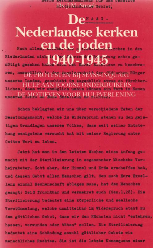 De Nederlandse kerken en de joden 1940-1945