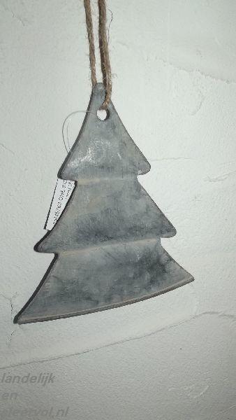 Zinken kerstboom s
