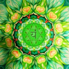 Anahata Chakra - print on canvas LisaBorstlap-DannyBecher