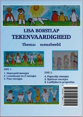 DVD - Tekenvaardigheid - Lisa Borstlap - Thema: mensbeeld