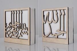 Napkinholder wood