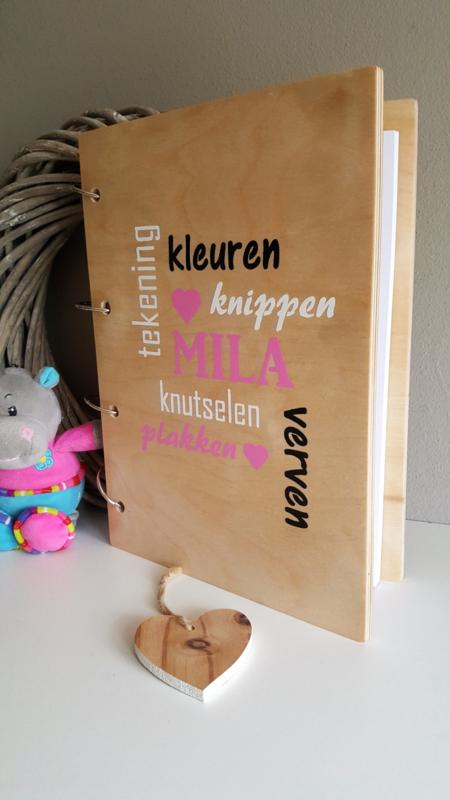Hedendaags Knutsel Bijzonder Boek | Houten Bijzonder Boeken | Gewoon Vermeer PD-71