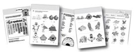 Werkboeken donkerblauw - set à 5