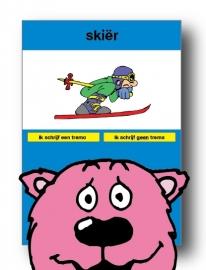 skiër kaart 1