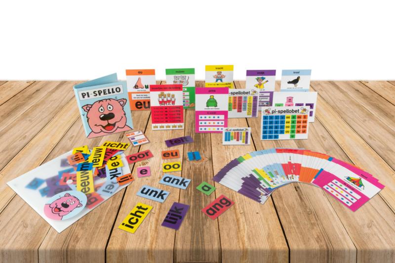 Spellingkaartenpakket  kind