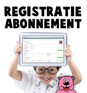 Registratie-abonnement