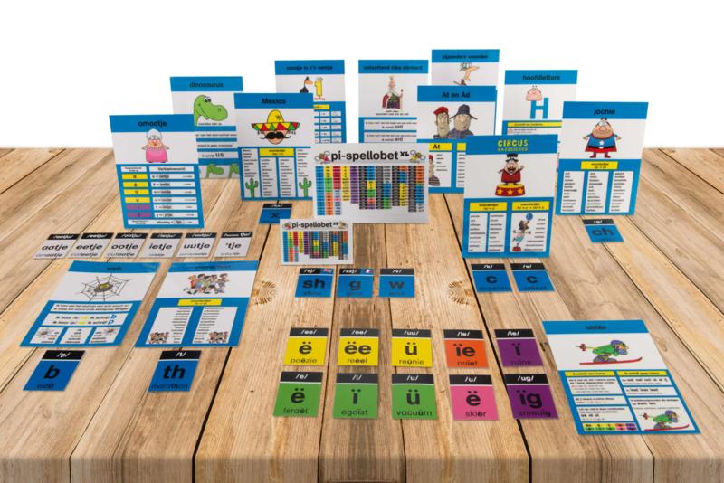 Spellingkaartenpakket XL kind