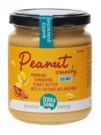 Pindakaas Crunchy met Zeezout (Bio)