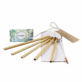 Rietjes Set van 5 (Bamboe)