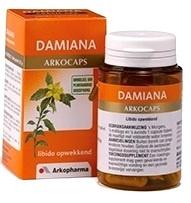 Damiana Caps