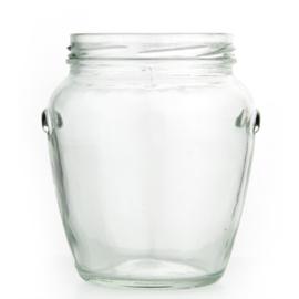 Glazen Pot Ovaal - 580ml